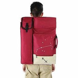 4K Art Portfolio Case Artist Zaino e tote Bag Borsa da diseg