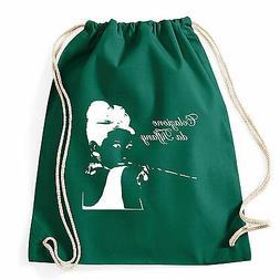 Art T-shirt, Zaino Colazione da Tiffany, Verde, Sacca Gym