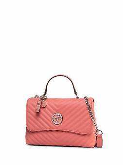 TRACOLLA UNISEX Guess BLAKELY COR ECOPELLE ROSSO HWVG76 6318