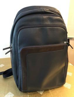 Piquadro Zaino Porta PC in Pelle  - Blu